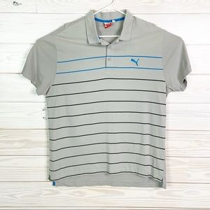 Puma Men Polo Shirt Golf Short Sleeve